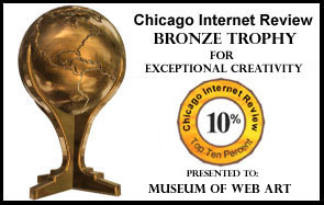 Chicago Internet Review Bronze Trophy